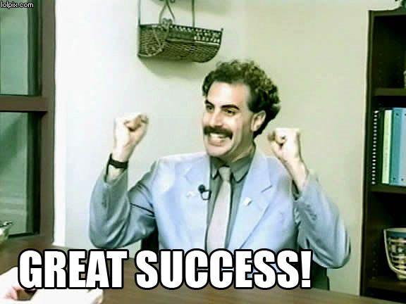 Yeah baby, Borat roooooooooocks!!